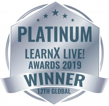 2019 learnX Platinum logo